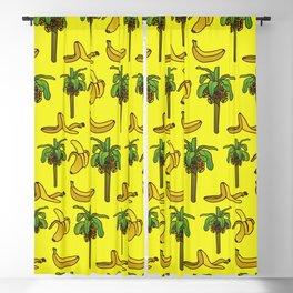 Banana print, Banana decor, banana tree, banana tree print, home decor Blackout Curtain