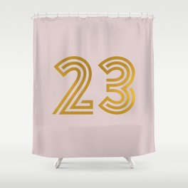 #23 (Pink) Shower Curtain