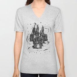 Super Magic Dream Castle Unisex V-Neck