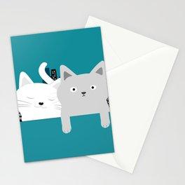 City Cats Stationery Cards