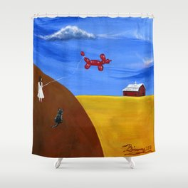 Hilly Hey Shower Curtain