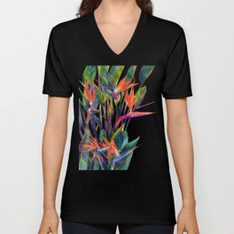 The bird of paradise Unisex V-Neck
