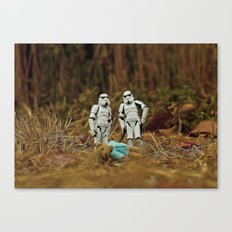 stormtroopers/bear Canvas Print