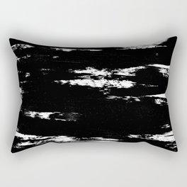 Inky Texture 5 Rectangular Pillow