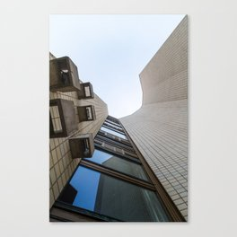 An Abstract Architectural Photograph Canvas Print
