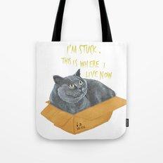 Boxcat Tote Bag