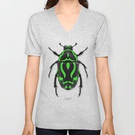 Fiddler Beetle Unisex V-Neck