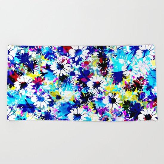 Floral 2 Beach Towel