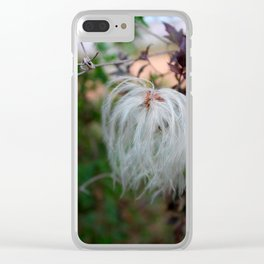 Autumn Beauty Clear iPhone Case