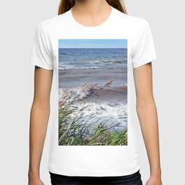 Waves Rolling up the Beach T-shirt