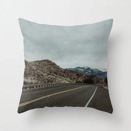 High Sierra Rambler Throw Pillow