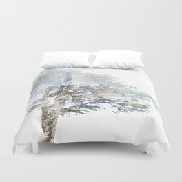Where the sea sings to the trees - 5 Duvet Cover