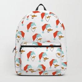 Santa Claus pattern Backpack