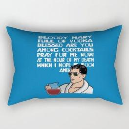 Bloody Mary Rectangular Pillow