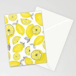 Lemonade party Stationery Cards