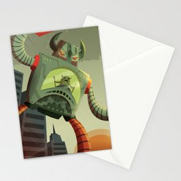 RoboMonsters Stationery Cards