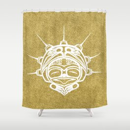 Spirit Frog Sand Shower Curtain