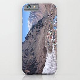 Aconcagua Base camp View, Argentina iPhone Case