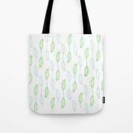 Feather Falling 3 Tote Bag
