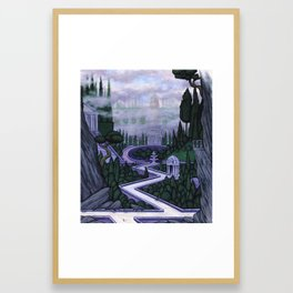 Entrance to the Island Framed Art Print