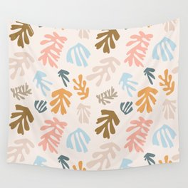 Seaweeds and sand Wall Tapestry