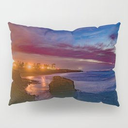The Elegance of Sunset Cliffs Pillow Sham