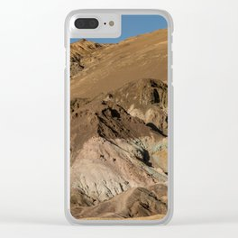 Artist's Palette Pano - Death Valley, California Clear iPhone Case