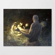 Forge of Worlds Canvas Print