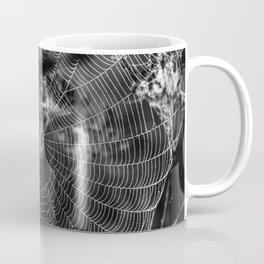 Morning Dew On Spiders Home Coffee Mug