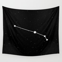 Aries Astrology Star Sign Night Sky Wall Tapestry