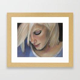 Forever a wallflower Framed Art Print