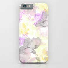Vintage flora 01 Slim Case iPhone 6s