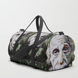 Albert Einstein - brainstorm Duffle Bag