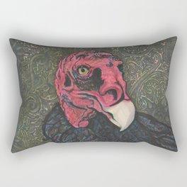Beauty in Flight Rectangular Pillow