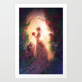 Whispers in the Greenhouse Art Print