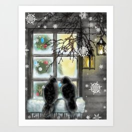 Warmth from Within Art Print
