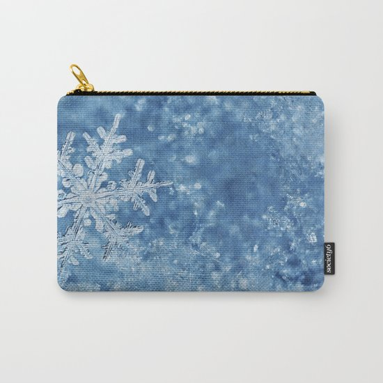 Winter wonderland Snowflakes Carry-All Pouch