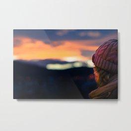 Wayward Sunset Metal Print