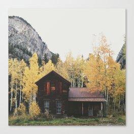 Crystal Cabin Canvas Print