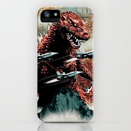 Godzilla Cover Art G-Fan Magazine iPhone Case