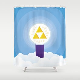 The Creation of Hyrule Shower Curtain