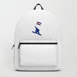 Colorado Snowboard Flag Backpack