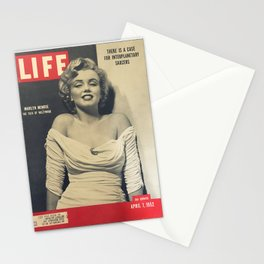 Marylin Monroe Print Poster08 Stationery Cards
