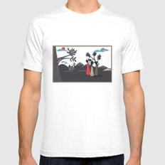 Africa life Mens Fitted Tee White MEDIUM