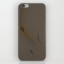 Tree Rings 1 iPhone Skin