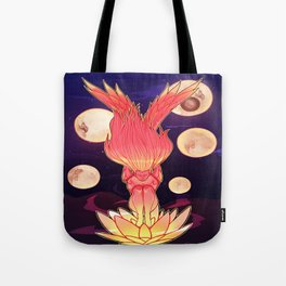 Lost Within Time Tote Bag