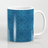 knit Mugs featuring Knit Reflection by Katie Troisi