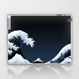 Big waves Laptop & iPad Skin