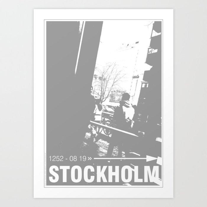 Stockholm 1252 august 19 Kunstdrucke