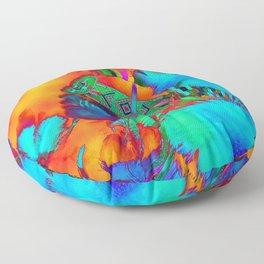 Raising Light Floor Pillow